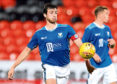 St Johnstone's Joe Shaughnessy in action.