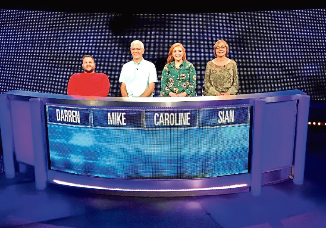 Darren Abel from Laurencekirk appeared on The Chase