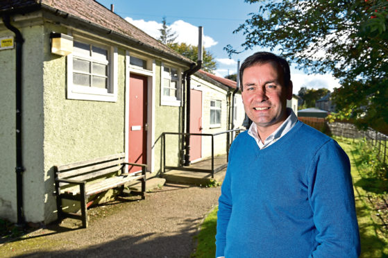 Pastor Barry Douglas  and the community have raised enough money to transform the Old building services depot on School Road, Aberdeen, into a community church