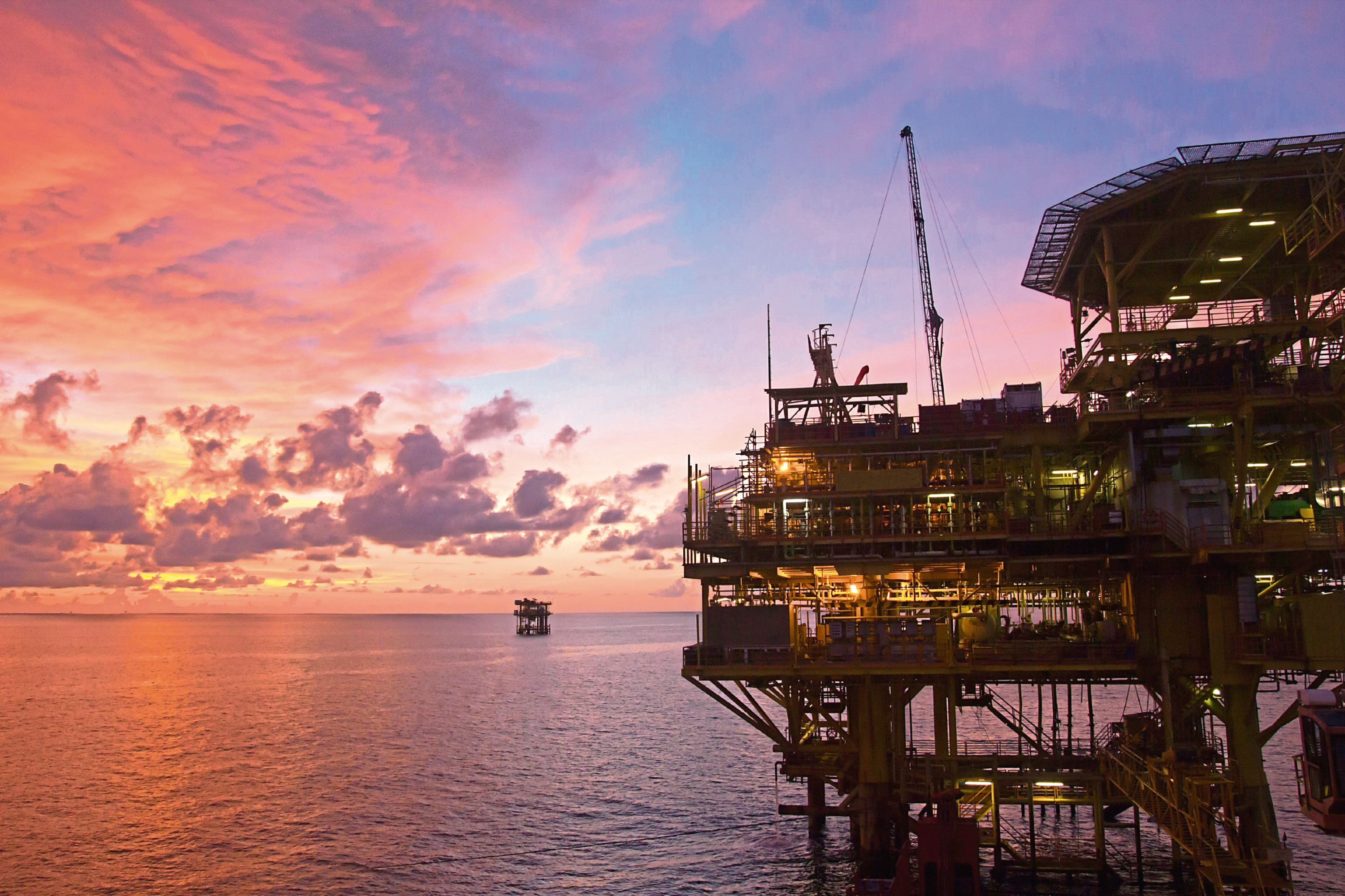 The report predicted that oil and gas companies will spend £15.3 billion on decommissioning over the next 10 years
