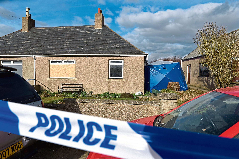 Brian McKandie was allegedly brutally beaten to death at his cottage in Badenscoth