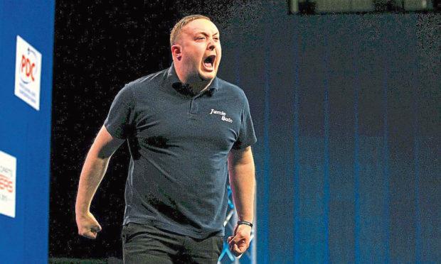 Aberdeen pro darts player Jamie Bain.