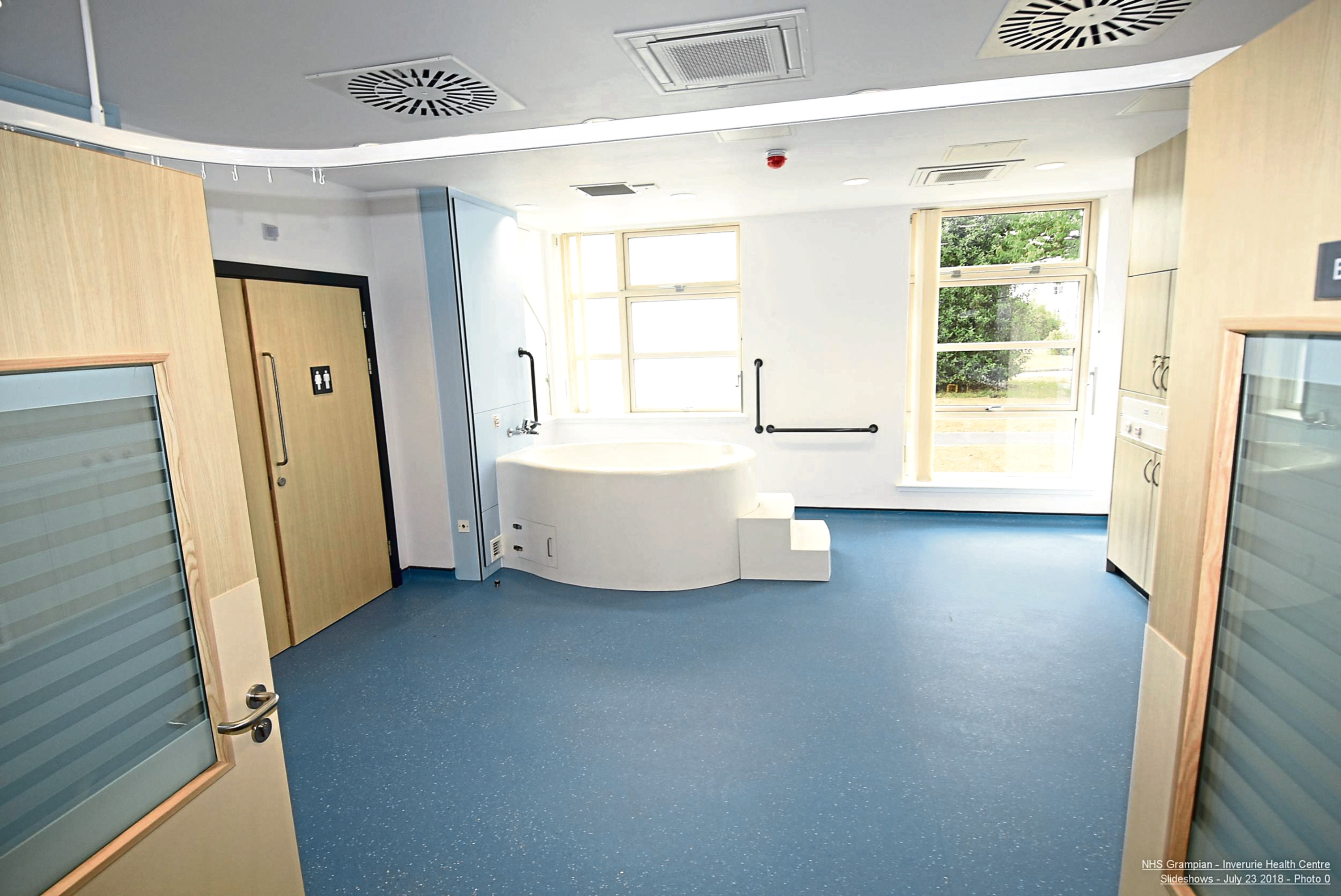 Inside the new unit at Inverurie
