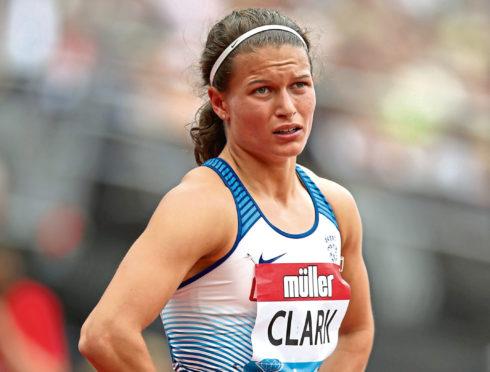 Aberdeen AAC runner Zoey Clark