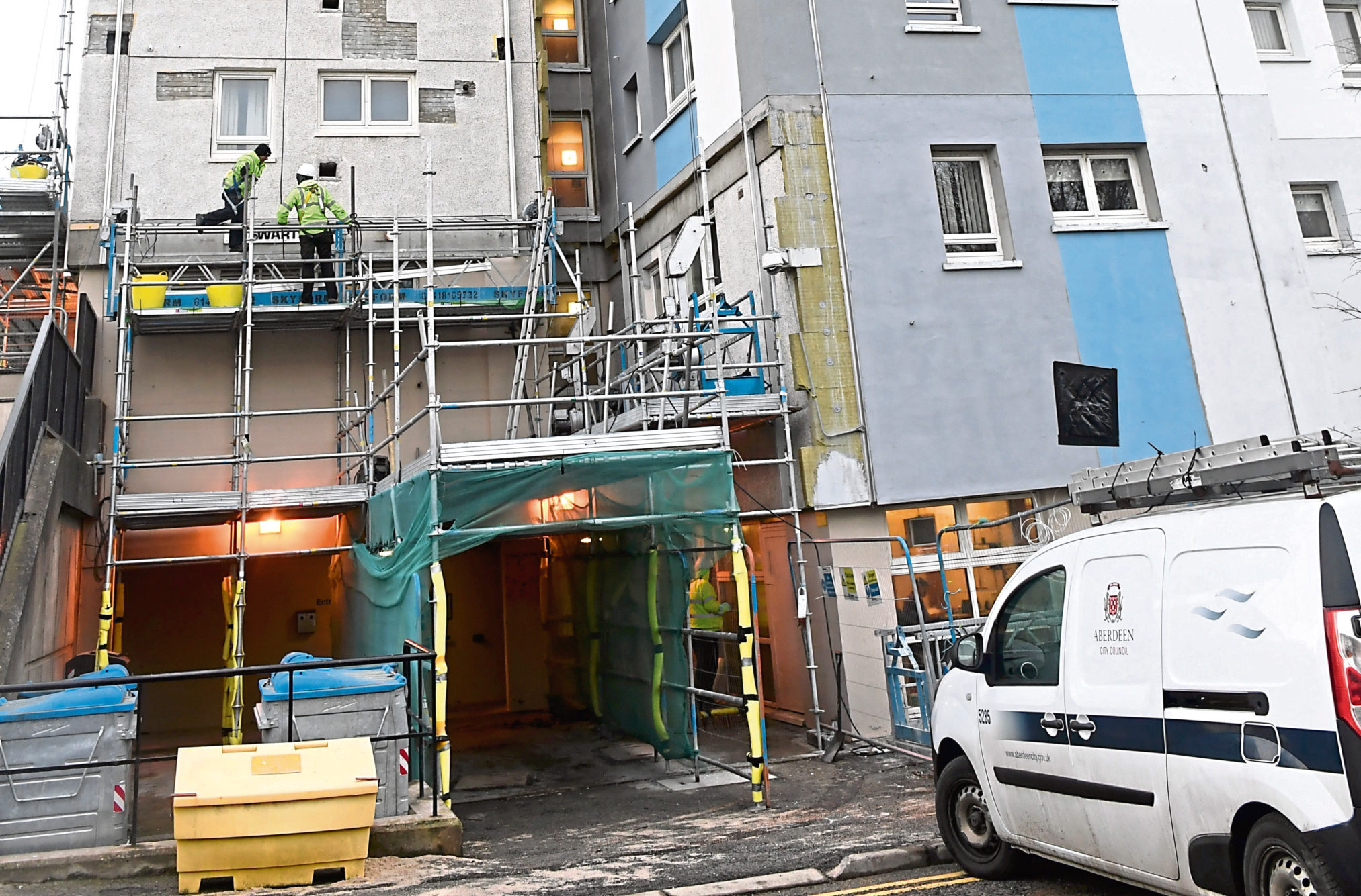 Work will have to be redone at Stewart Park Court in Rosehill