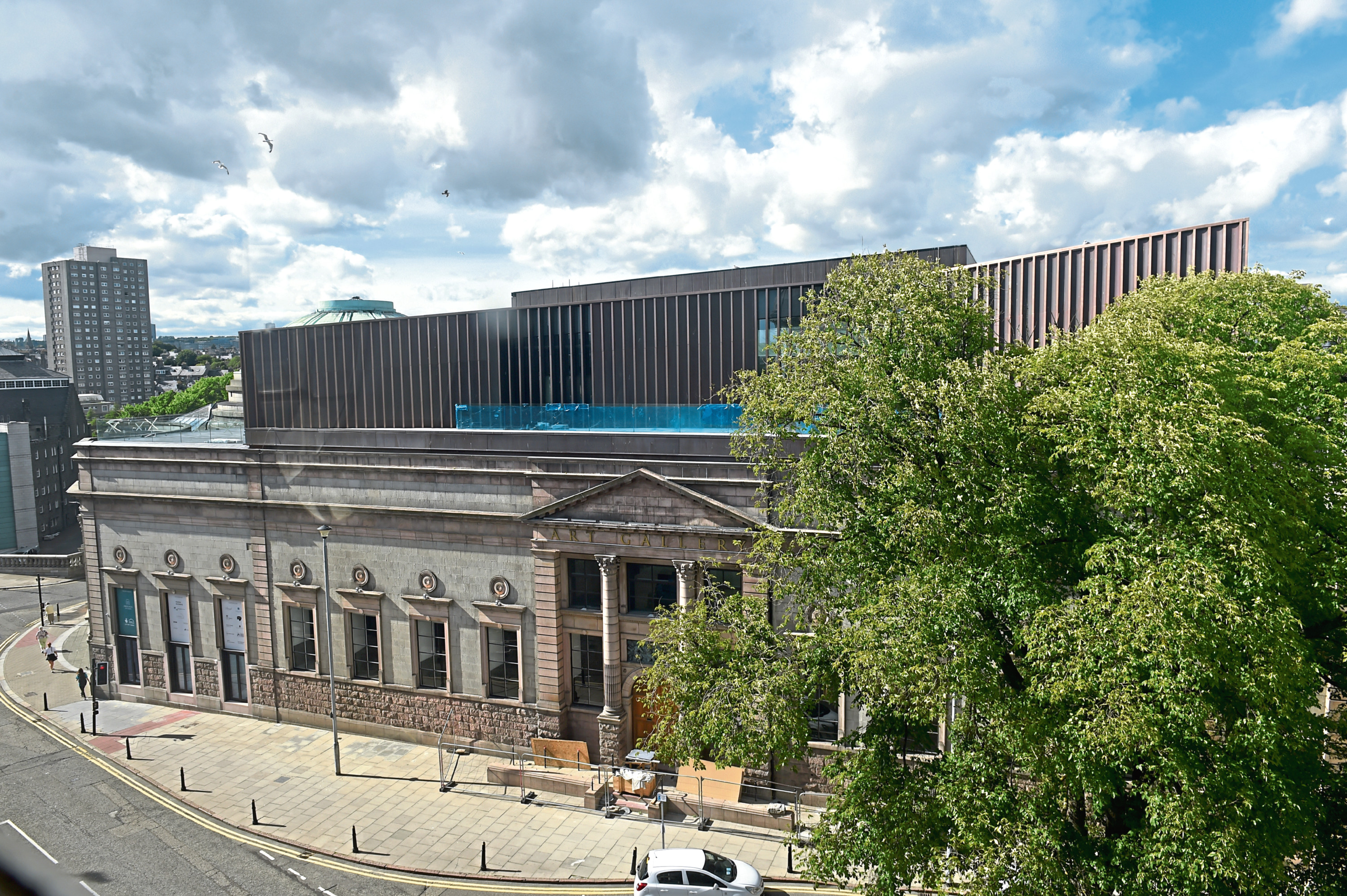 Locator of Aberdeen Art Gallery.  Picture by KENNY ELRICK     06/08/2018