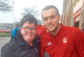 Nathan Taylor with James Wilson