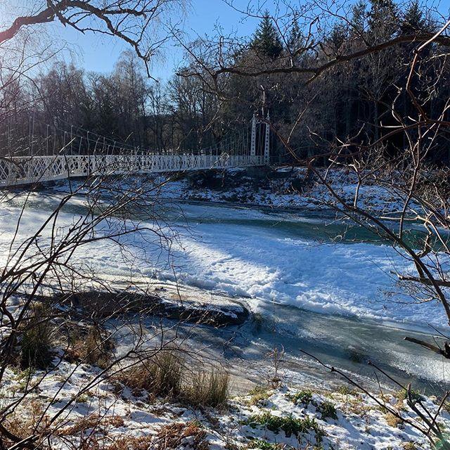The River Dee at Cambus O May