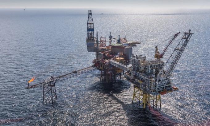 The Repsol Sinopec Resources UK's Montrose Alpha platform.