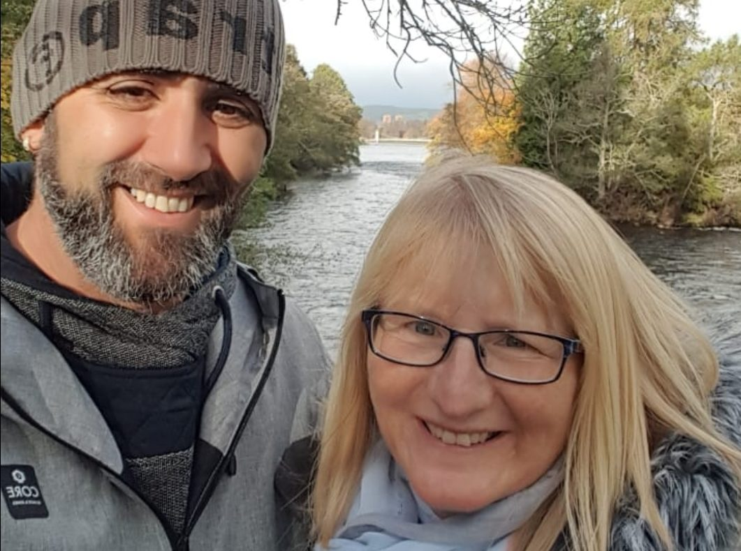 Foster carers Helen and Alan Rogers from Aberdeen