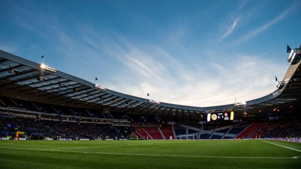 Scottish football is suspended because of coronavirus.