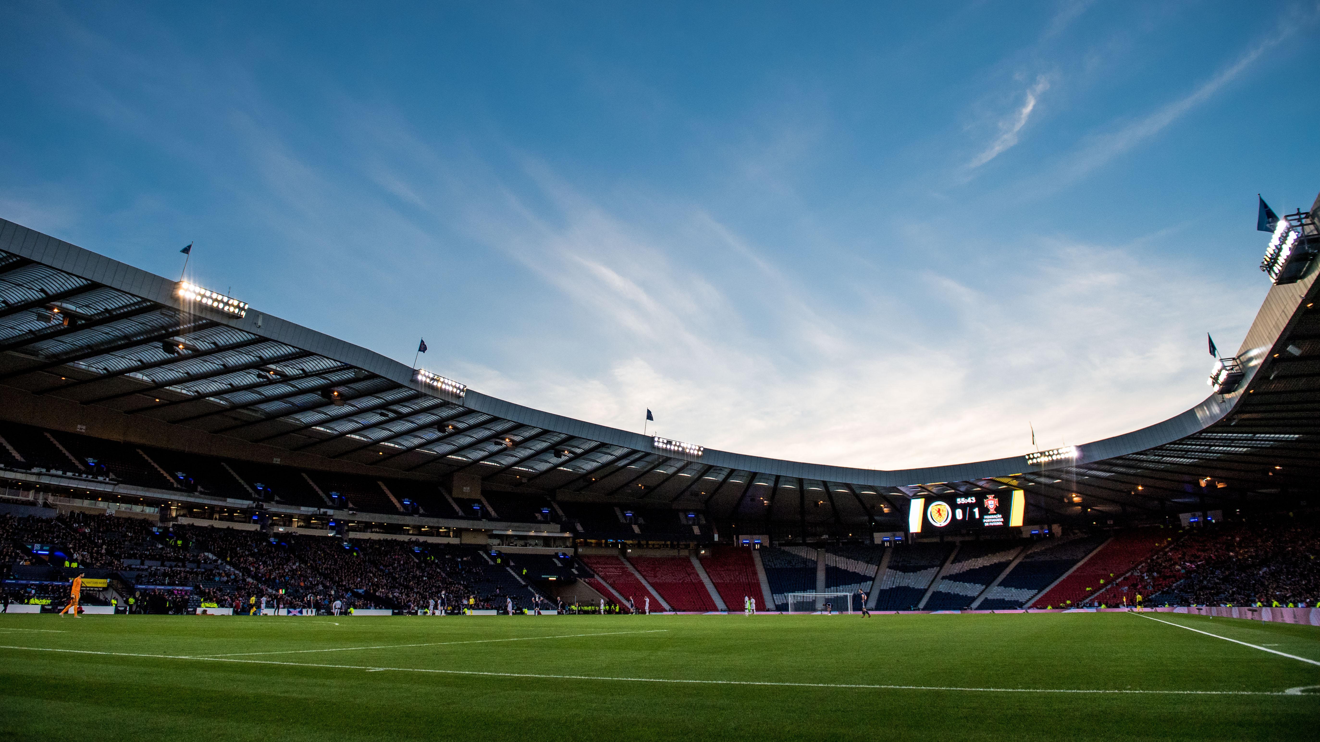 The home of Scottish football, Hampden Park