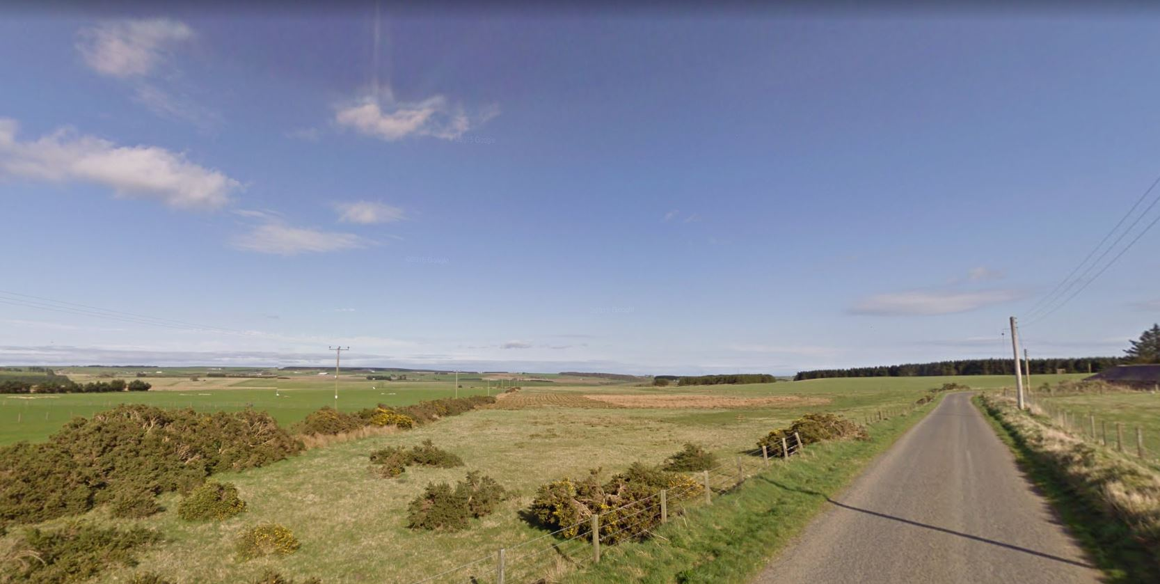 The Chap Group submitted proposals to Aberdeenshire Council for a mineral extraction site at Muirtack