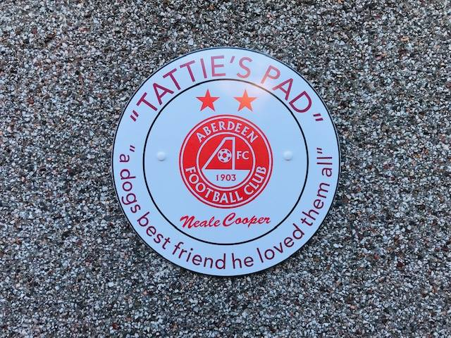 Mrs Murray's has renamed part of the centre Tattie's Pad after Dons legend Neale Cooper