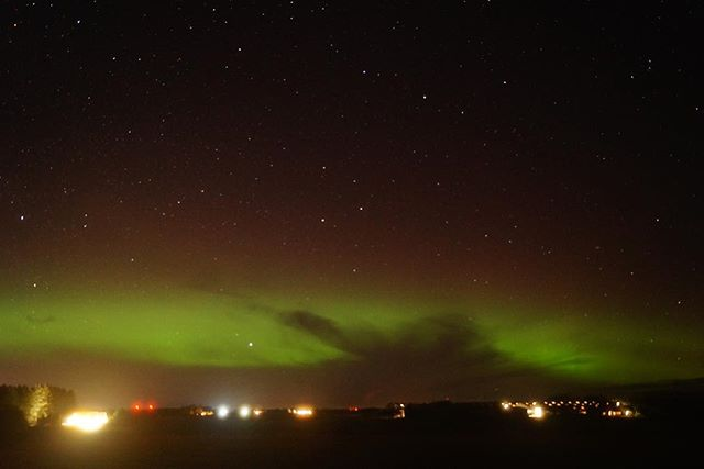The view looking from Lonmay towards Fraserburgh