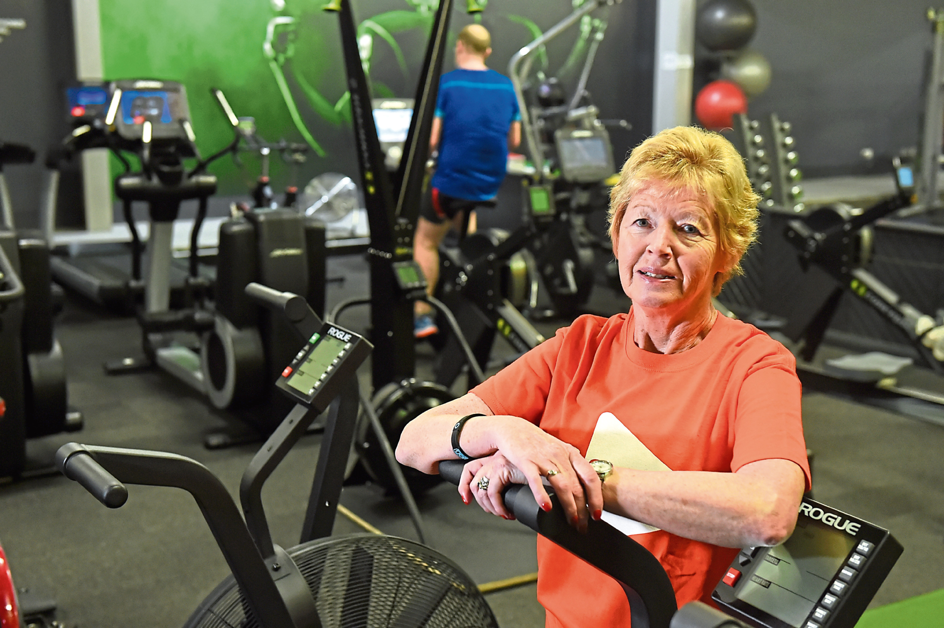 Fiona Halliday was determined to get back to fitness and joined The Unit in Banchory