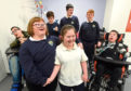 The youngsters at Orchard Brae school sing a song - with its video seeing 11,000 hits overnight