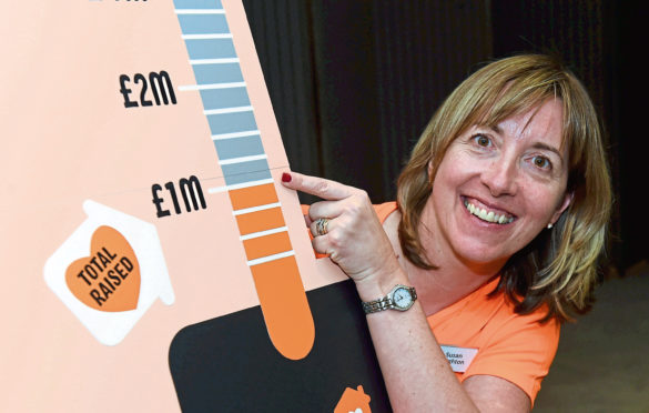 Charlie House's director of fundraising Susan Crighton