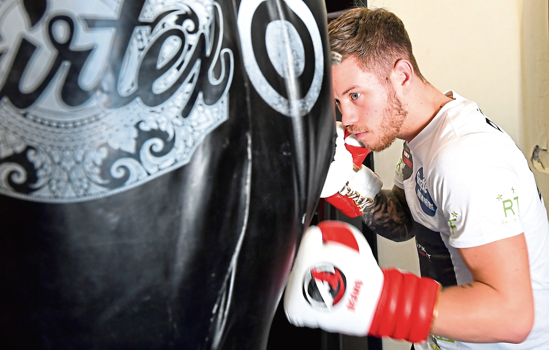 Aberdeen boxer Dean Sutherland