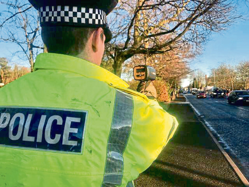Drivers have been stopped on the A96