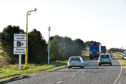 An average of 30 motorists a day are caught speeding on the A90 between Stonehaven and Dundee.