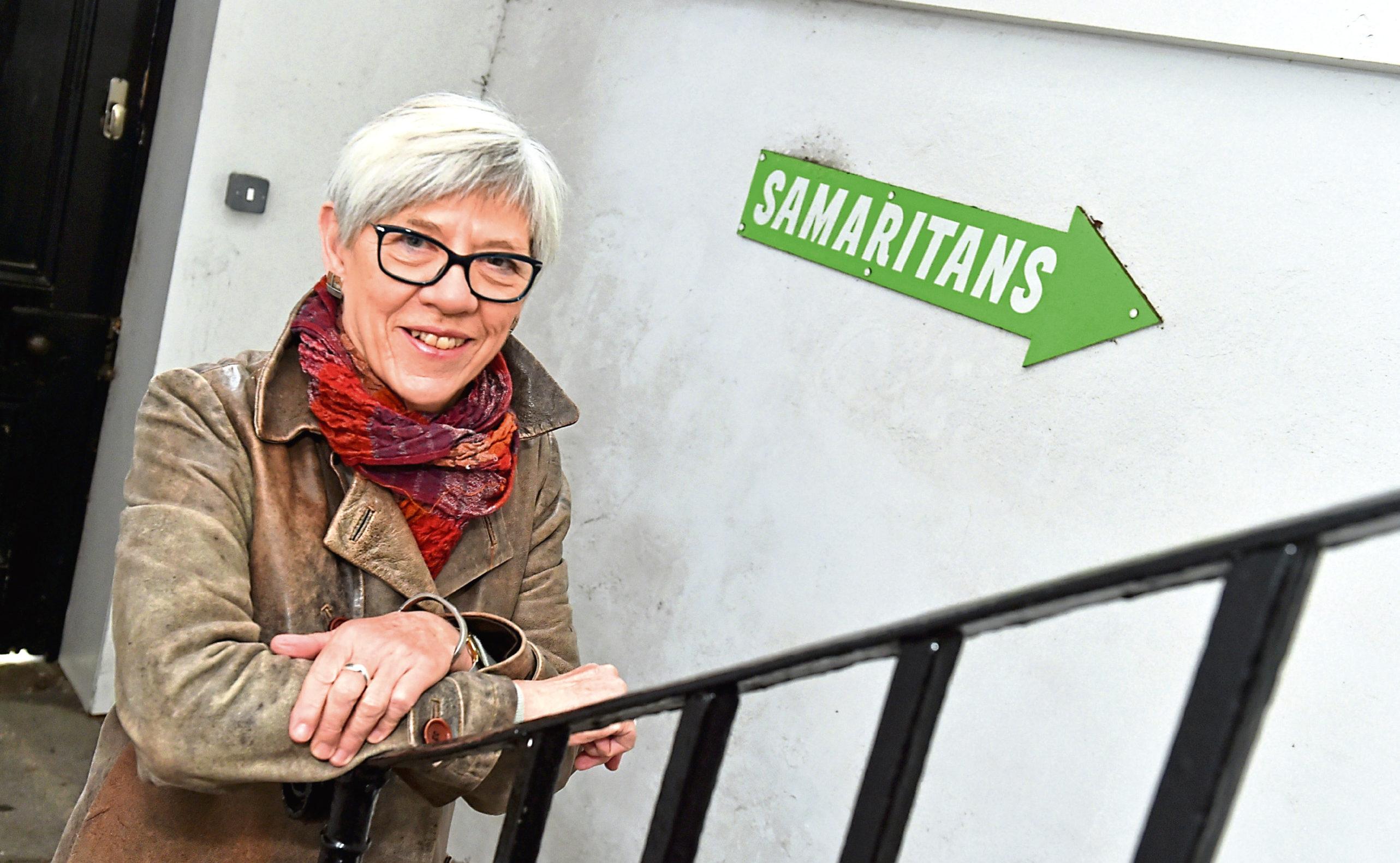 Elaine Mottram is encouraging people to raise vital funds for Samaritans.