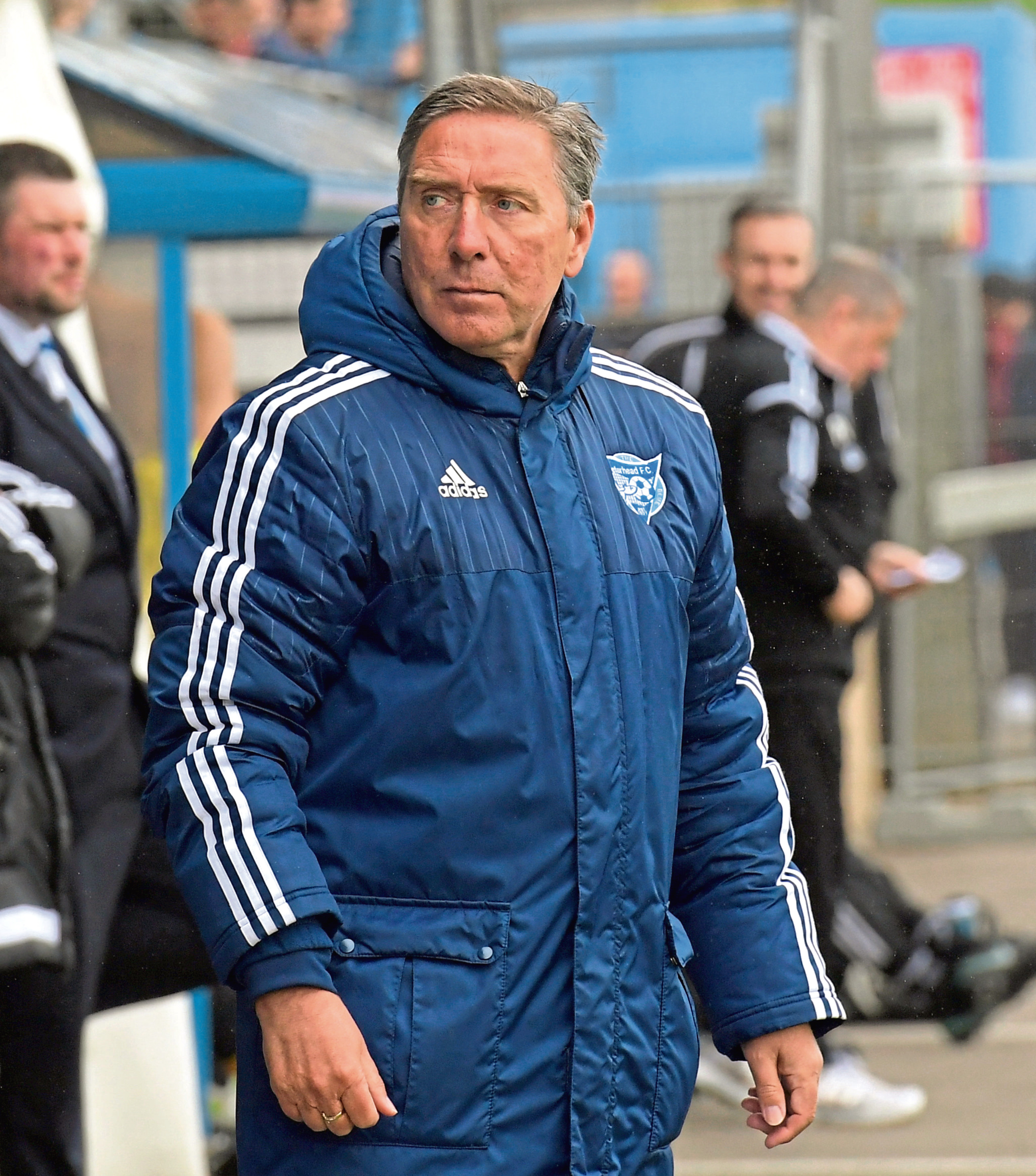 Peterhead manager Jim McInally Picture by KATH FLANNERY