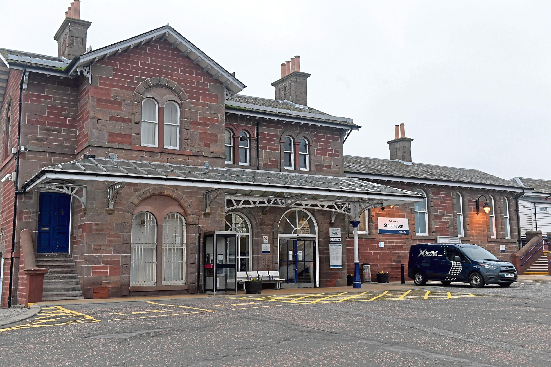 Stonehaven Train Station