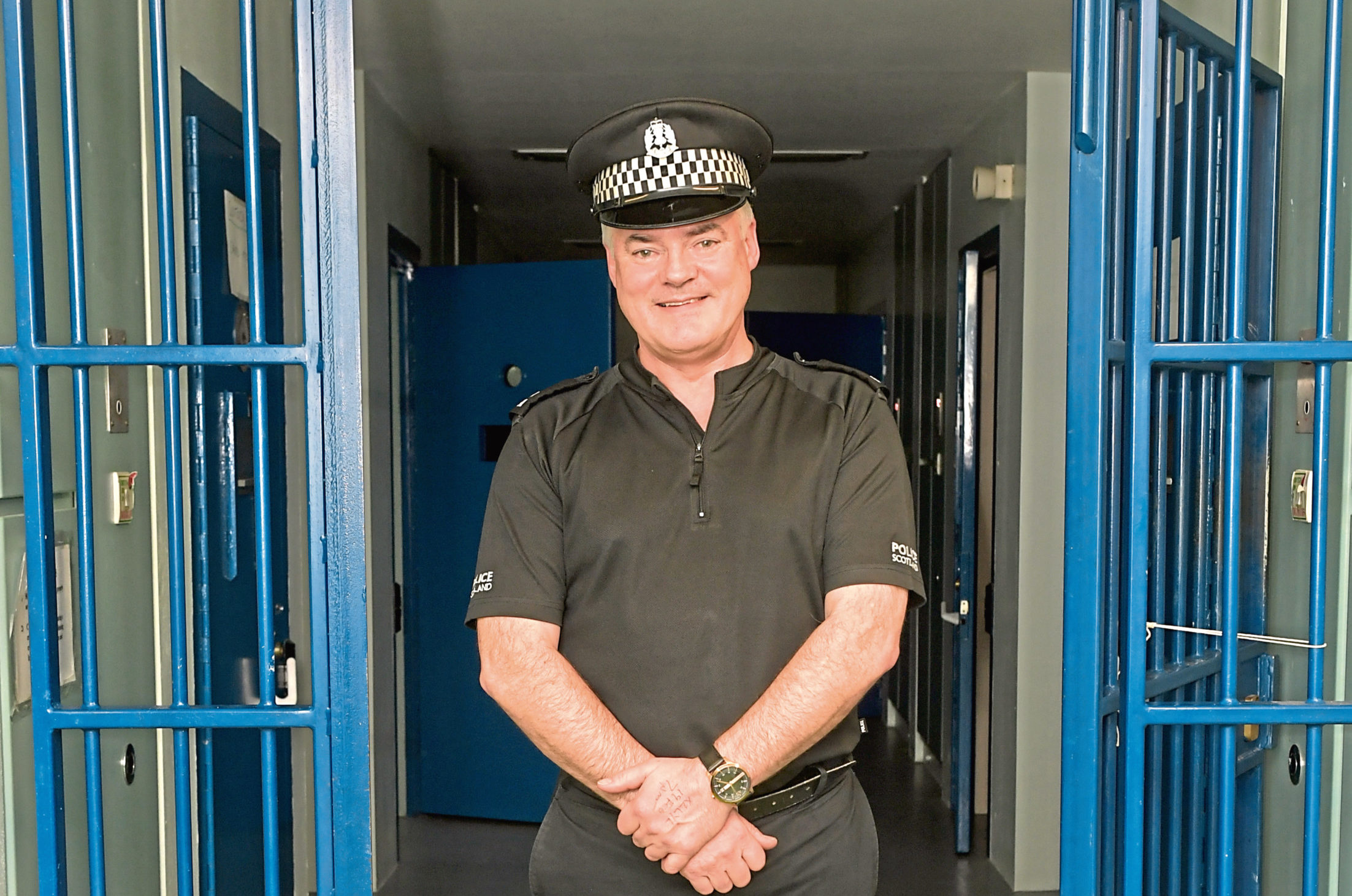 Steve Middleton has this week retired from Police Scotland.