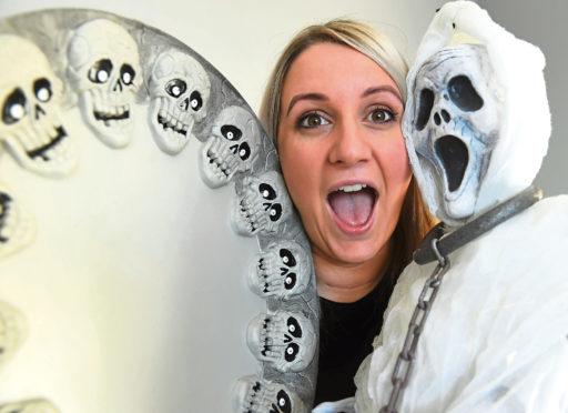 Krissy is organising a Halloween-themed fundraiser.