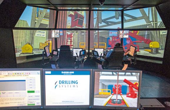 Drilling simulator at RGU