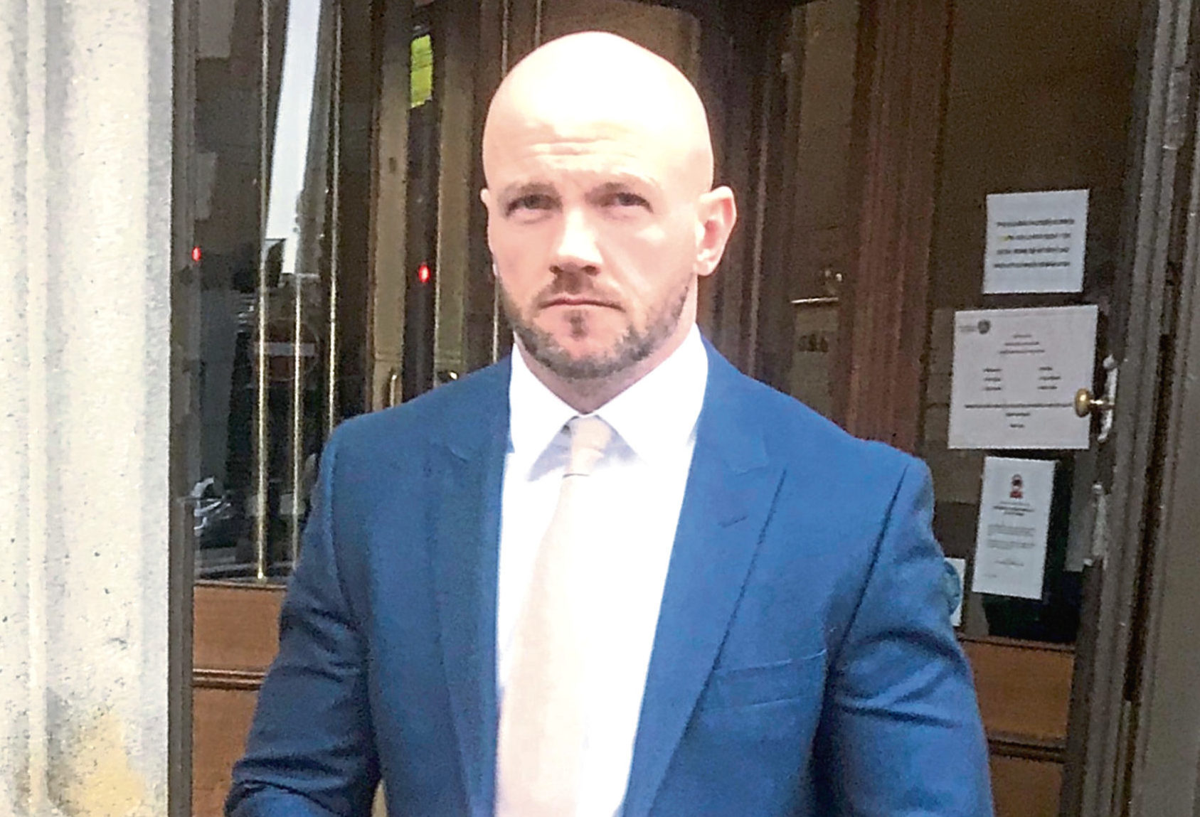 John McElory was at the Club Tropicana nightclub  when he attacked another man with a bottle