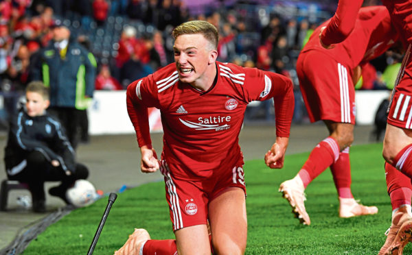Aberdeen's Lewis Ferguson.