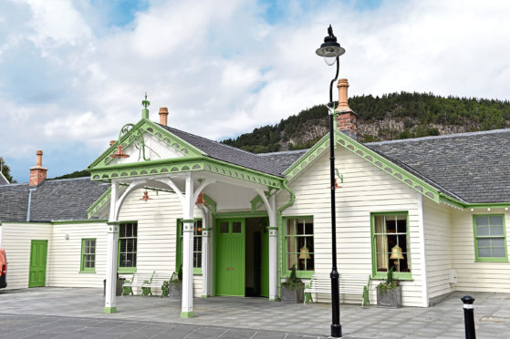 The Ballater Old Royal Station