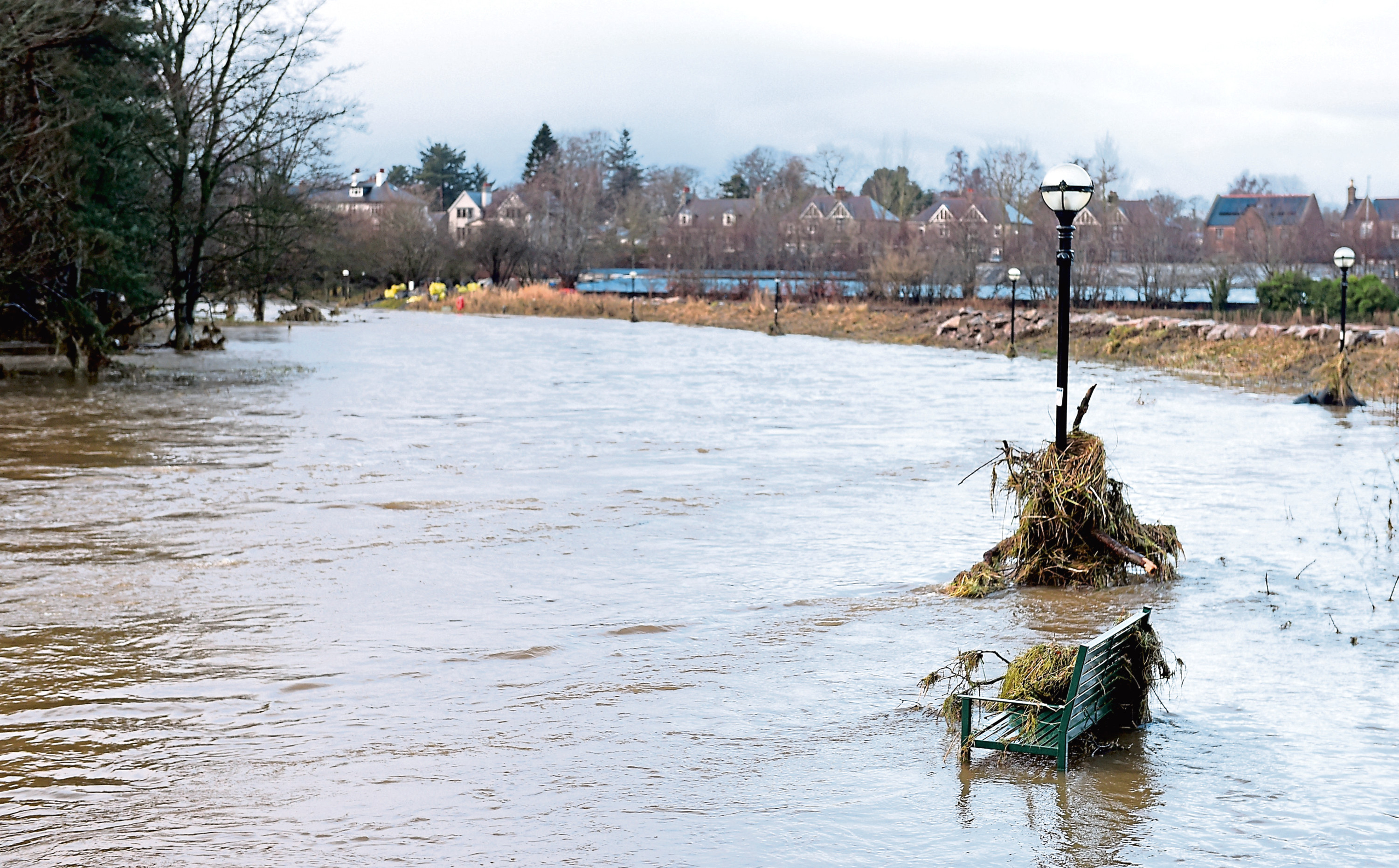Plans are being made to tackle flooding around the River Don at Port Elphinstone
