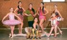 Elana Branston, Ellie Clarke, Carys Taylor, Jasmine Lamond Watt, Eva Shand, Natasha Livingston and Frankie-Rose Black