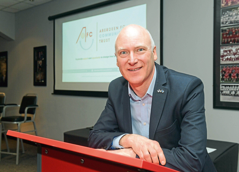 Public Health Minister Joe FitzPatrick spoke at the event.