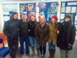 Norman Reedus during a visit to Doonies