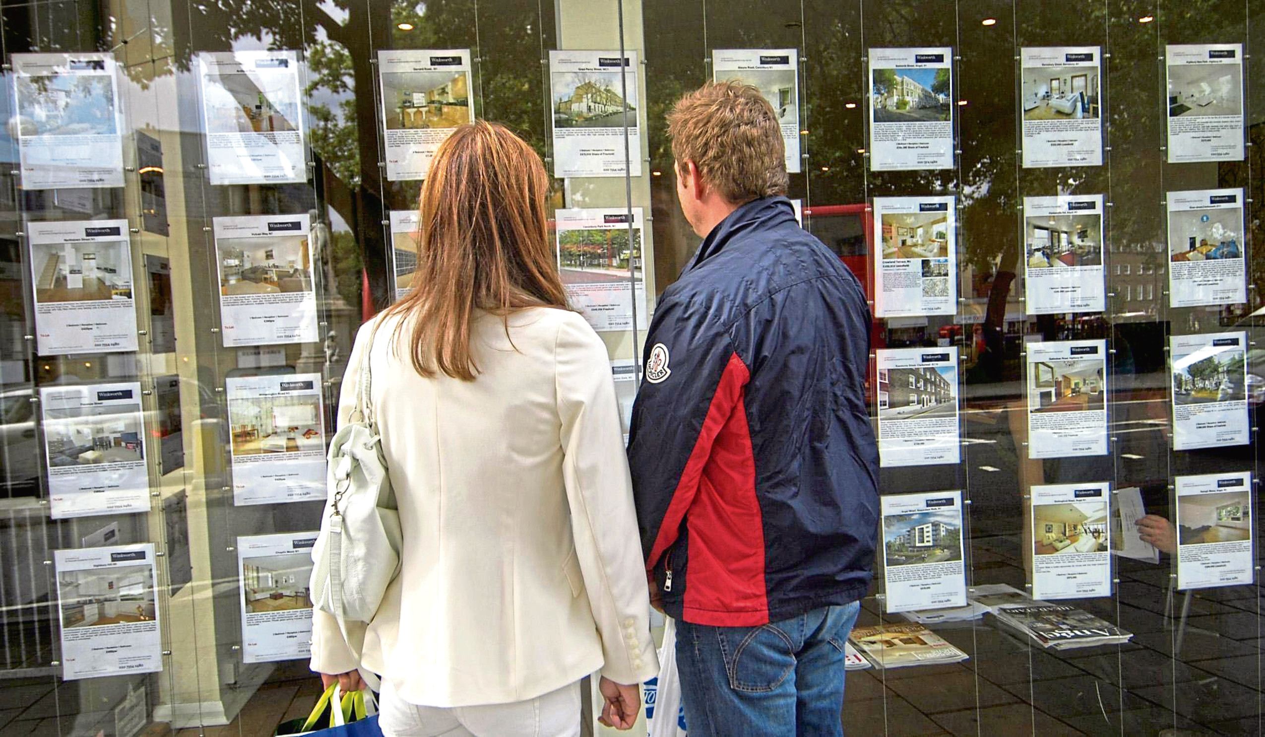 House prices in the north-east have continued to rise