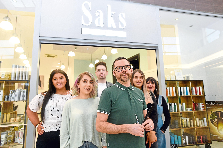 The team at Saks Aberdeen