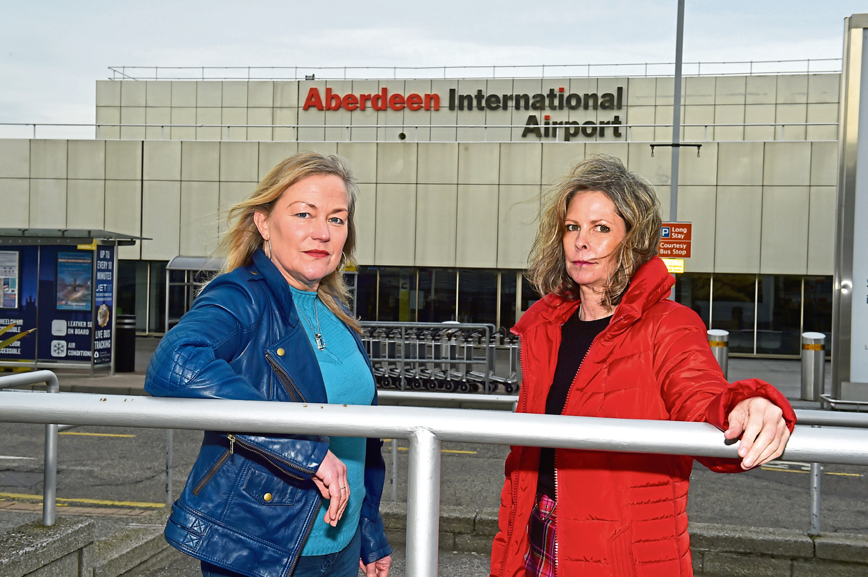 Val Fry and Rachael May have started a petition aimed at persuading easyjet to restart a route between Aberdeen and Gatwick