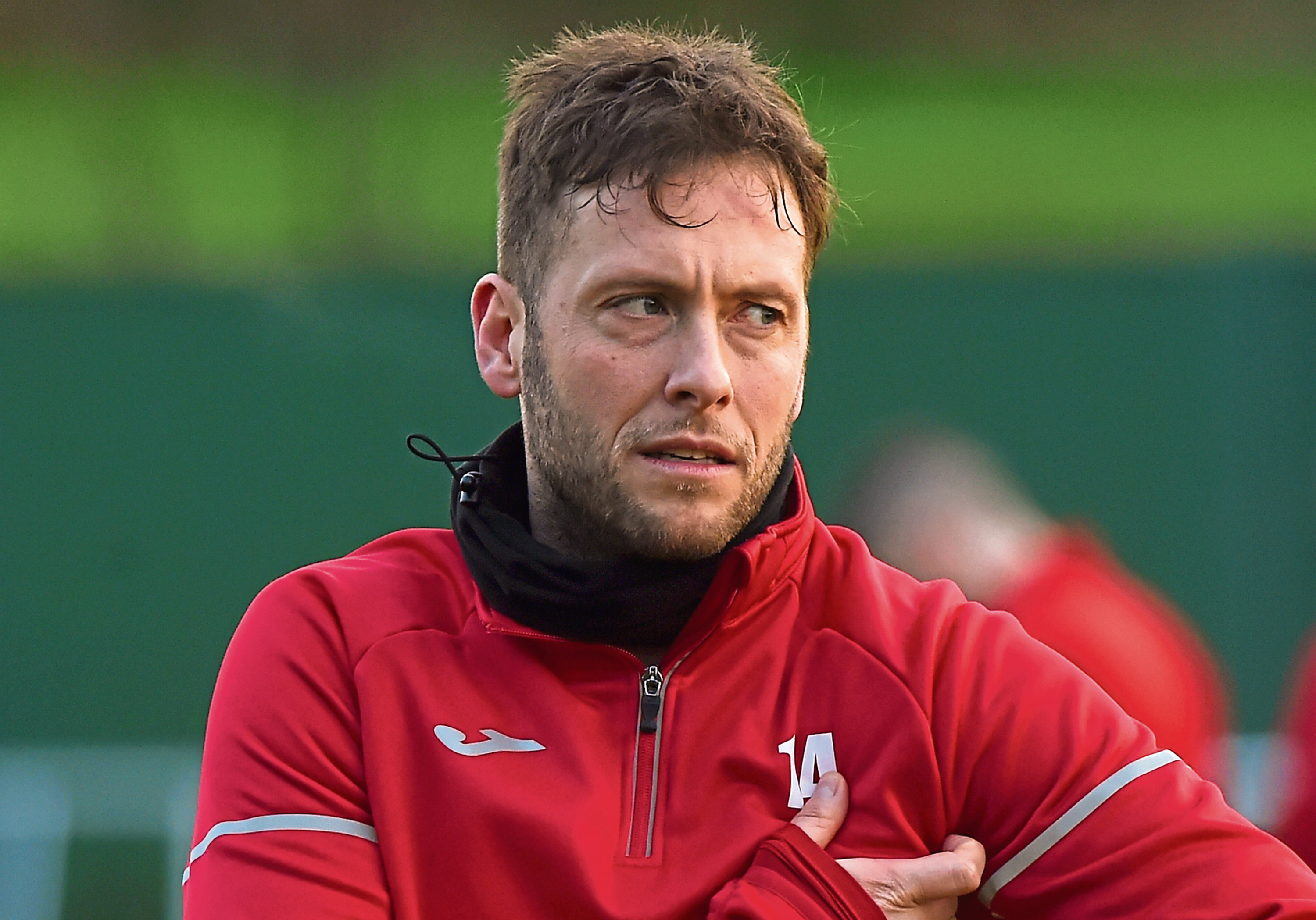 Formartine United manager Paul Lawson Picture by KENNY ELRICk