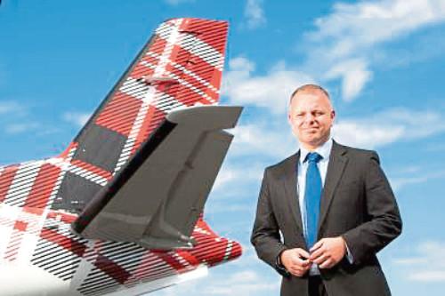 Loganair boss Jonathan Hinckles