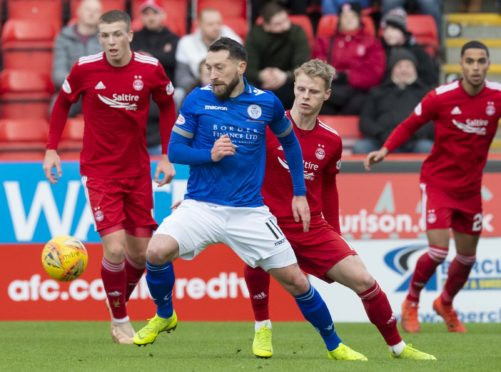The Dons knocked out Queen of the South yesterday, winning 4-1 at Pittodrie.