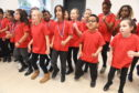 Skene Square School pupils during their performance