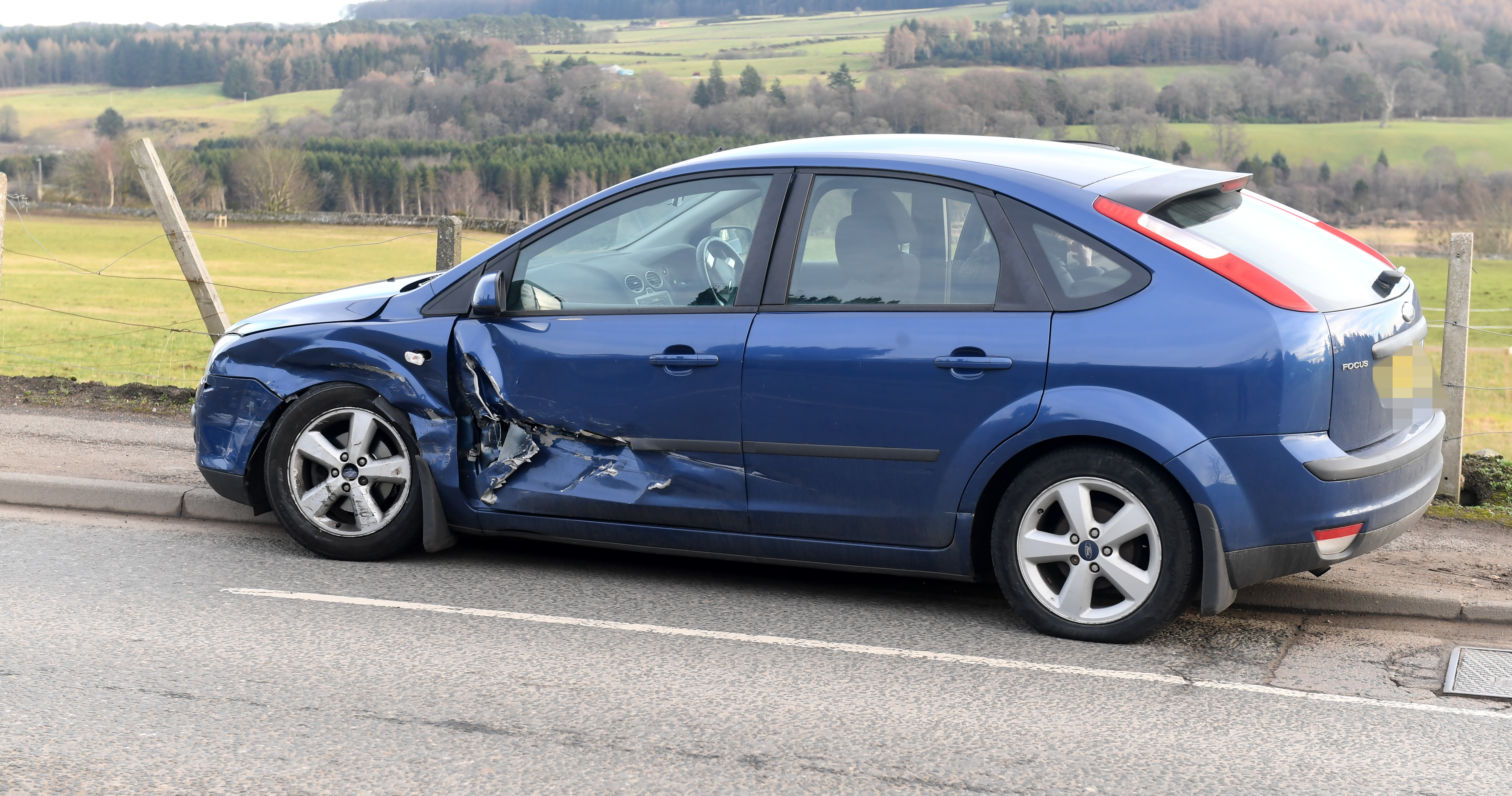 Motorists are facing delays after a crash on an Aberdeen road.