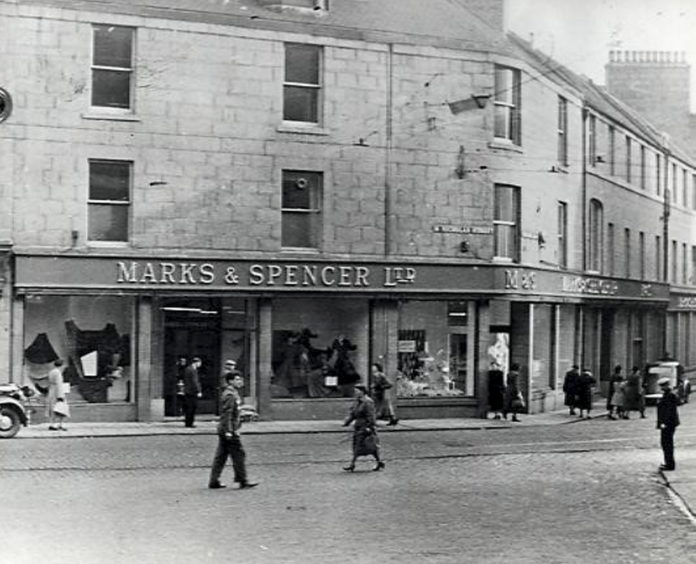 They adopted the Marks and Spencer name in 1945