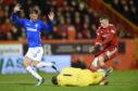 Lewis Ferguson and Rangers' Allan McGregor