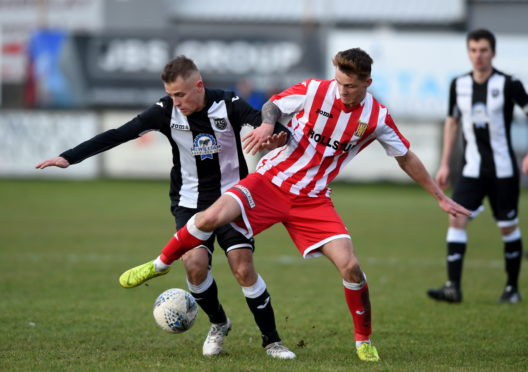 Formartine's Aaron Norris. Picture by Darrell Benns