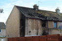 Fire crews were called to the property in the early hours of this morning